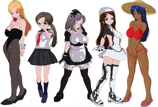 Girl Games Porn - Custom Girl 3D Computer Game Idol Onahole Masturbator
